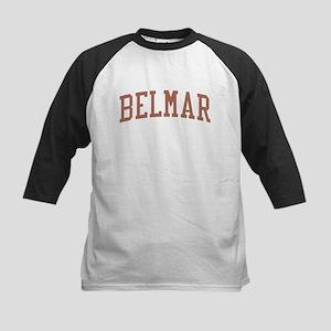 Belmar New Jersey NJ Red Kids Baseball Jersey
