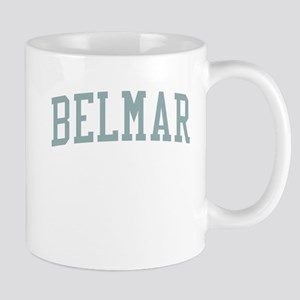 Belmar New Jersey NJ Green Mug