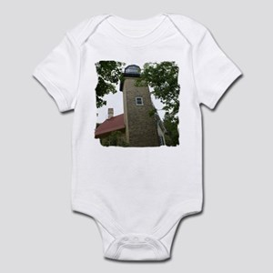 Eagle Bluff Lighthouse Infant Bodysuit