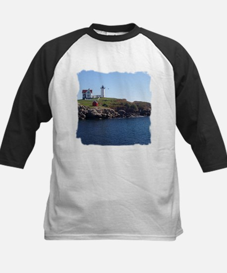 Nubble Lighthouse Kids Baseball Jersey