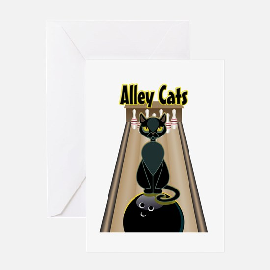 Cool Alley Greeting Card