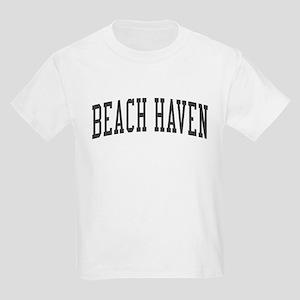 Beach Haven New Jersey NJ Black Kids Light T-Shirt