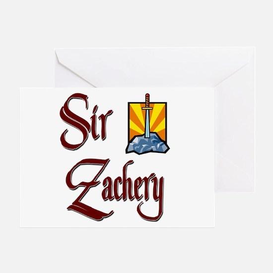Sir Zachery Greeting Card
