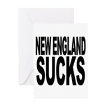 New England Sucks Greeting Card
