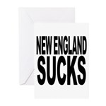 New England Sucks Greeting Cards (Pk of 10)