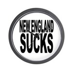 New England Sucks Wall Clock