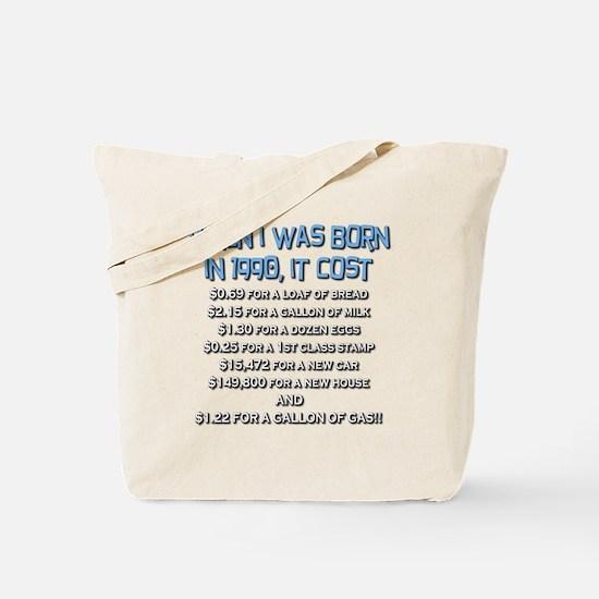 Price Check 1990 Tote Bag
