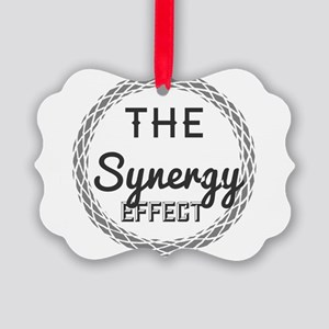 The Synergy effect. Picture Ornament