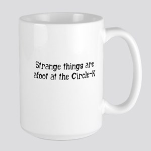 Strange things... Large Mug