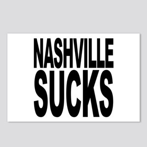 Nashville Sucks Postcards (Package of 8)