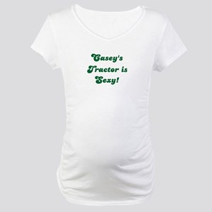 Casey's Tractor is Sexy! Maternity T-Shirt