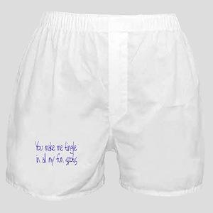 Make me Tingle Boxer Shorts
