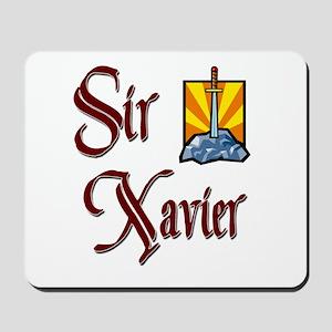 Sir Xavier Mousepad