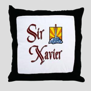 Sir Xavier Throw Pillow