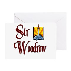 Sir Woodrow Greeting Card