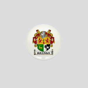 Sullivan Coat of Arms Mini Button (10 pack)