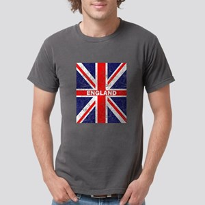 Distressed Union Jack England Flag Britain T-Shirt