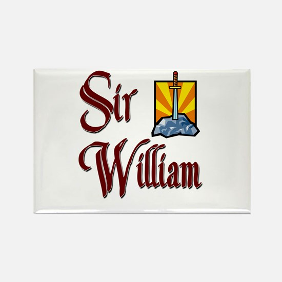 Sir William Rectangle Magnet (10 pack)