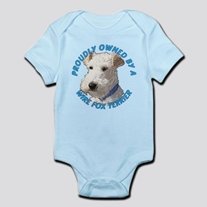 Proudly Owned Wire Fox Terrier Infant Bodysuit