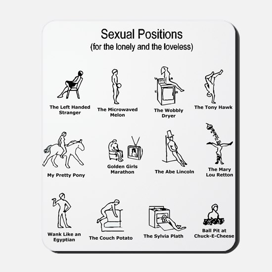 Sexual Positions Mousepad