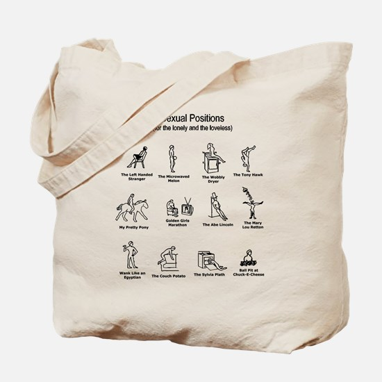 Sexual Positions Tote Bag