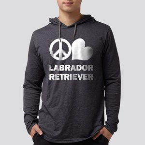 Peace Love Labrador Retriever Long Sleeve T-Shirt