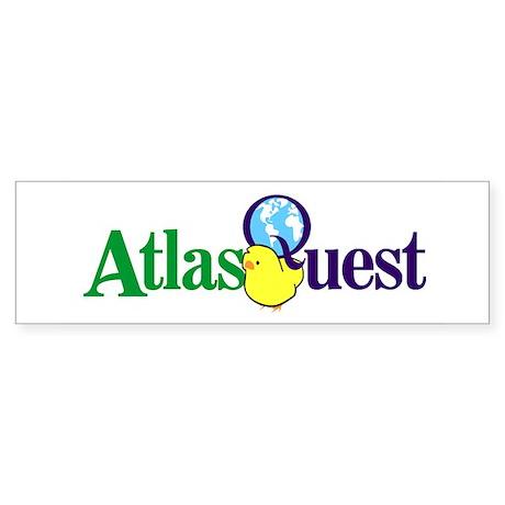 Atlas Quest Bumper Sticker