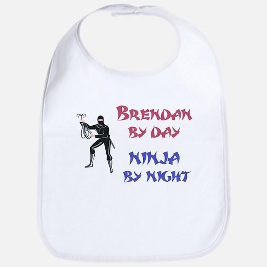 Brendan - Ninja by Night Bib