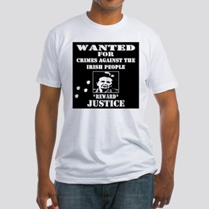 Thatcher wanted poster Fitted T-Shirt