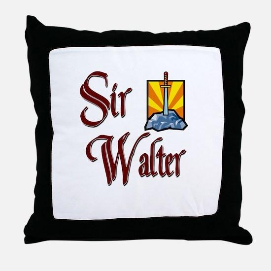 Sir Walter Throw Pillow