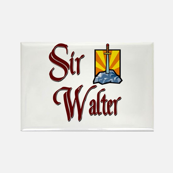 Sir Walter Rectangle Magnet