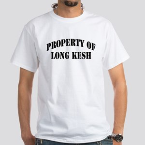 """Property of Long Kesh"" White T-Shirt"