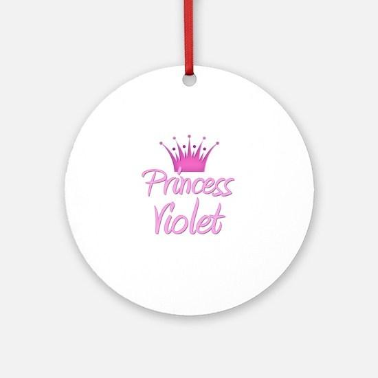 Princess Violet Ornament (Round)