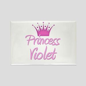 Princess Violet Rectangle Magnet