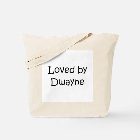Unique Dwayne Tote Bag