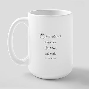 GENESIS  26:30 Large Mug