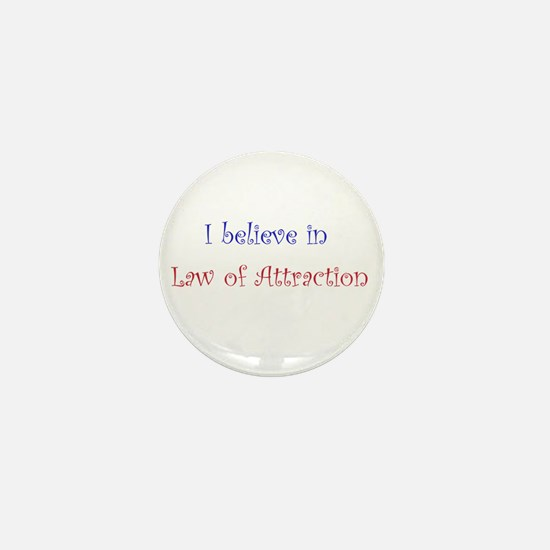 Law of Attraction Mini Button