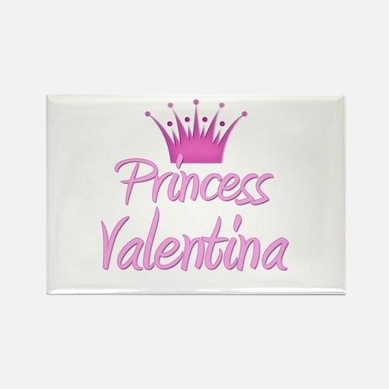Princess Valentina Rectangle Magnet