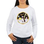 Night Flight/Beagle #2 Women's Long Sleeve T-Shirt