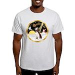 Night Flight/Beagle #2 Light T-Shirt