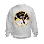 Night Flight/Beagle #2 Kids Sweatshirt