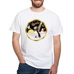 Night Flight/Beagle #2 White T-Shirt