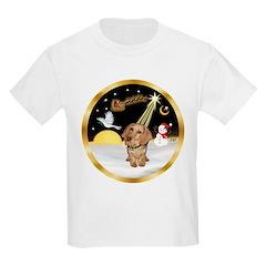 Night Flight/Dachshund #11 T-Shirt