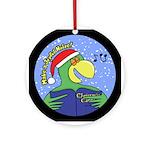 Joyful Noise Parrot Christmas Ornament