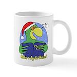 Joyful Noise Christmas Parrot Mug
