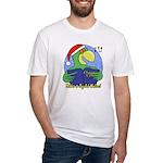 Joyful Noise Christmas Parrot T Shirt (Fitted)