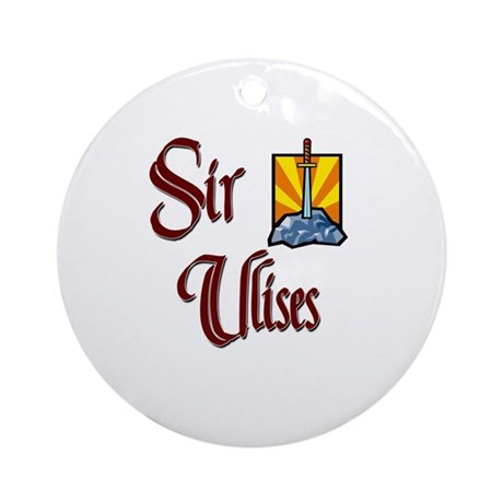 Sir Ulises Ornament (Round)