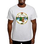 XmasMusic1MC/Dachshund #13 Light T-Shirt