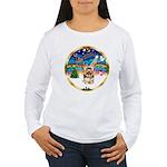 XmasMusic 3/Yorkie #17 Women's Long Sleeve T-Shirt