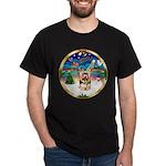 XmasMusic 3/Yorkie #17 Dark T-Shirt